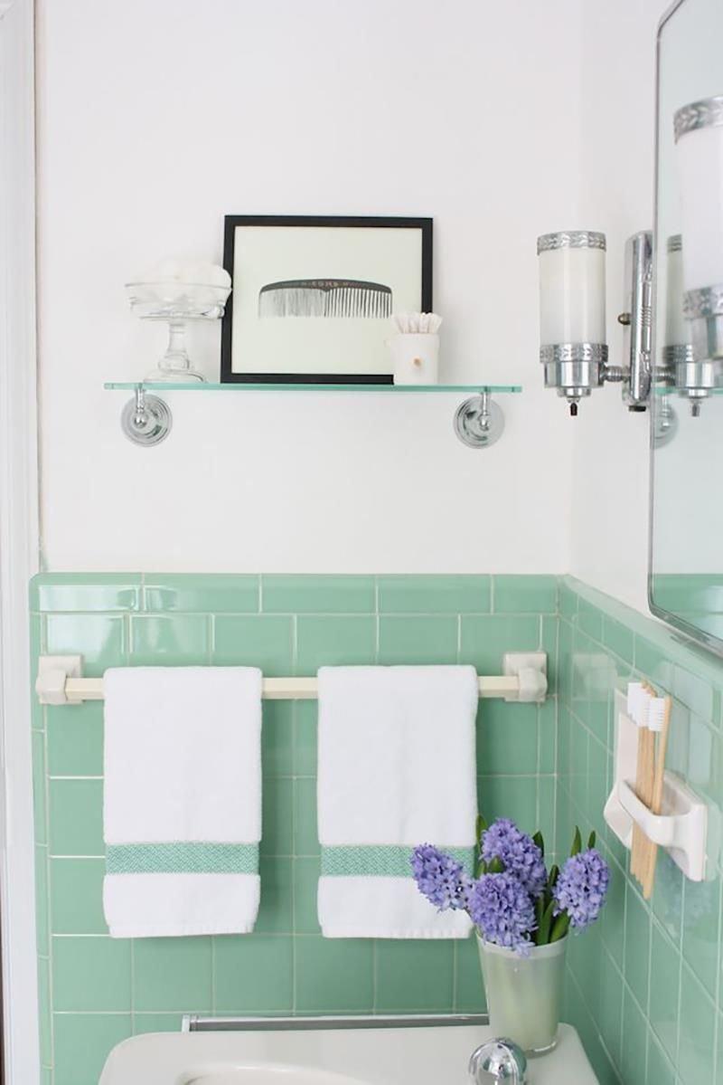20180625074838 c0b4 Màu xanh bạc hà cho phòng tắm ngày hè thêm dịu mát