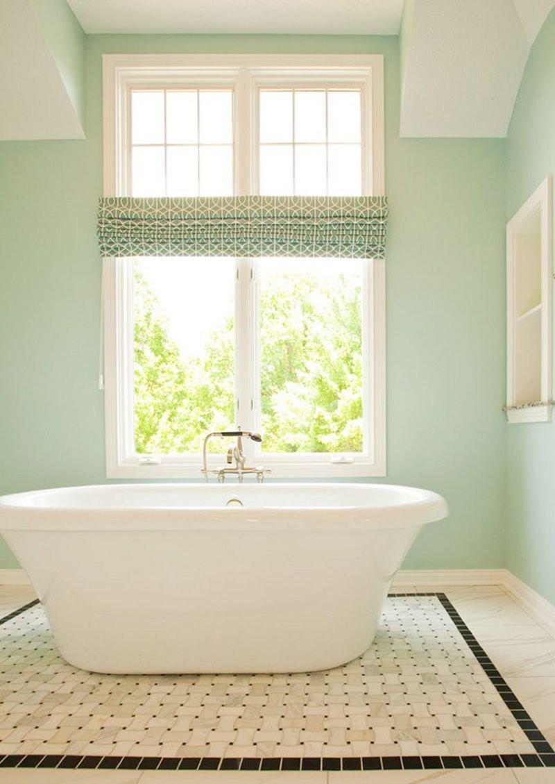 20180625074839 3c71 Màu xanh bạc hà cho phòng tắm ngày hè thêm dịu mát