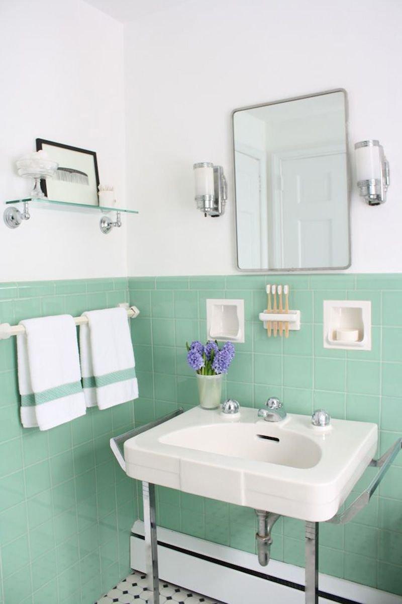 20180625074843 2aab Màu xanh bạc hà cho phòng tắm ngày hè thêm dịu mát