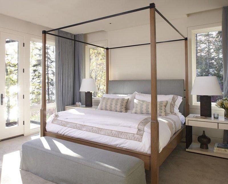 20180927083326 b8a0 Mê mẩn trước vẻ đẹp thanh lịch của mẫu giường ngủ Canopy