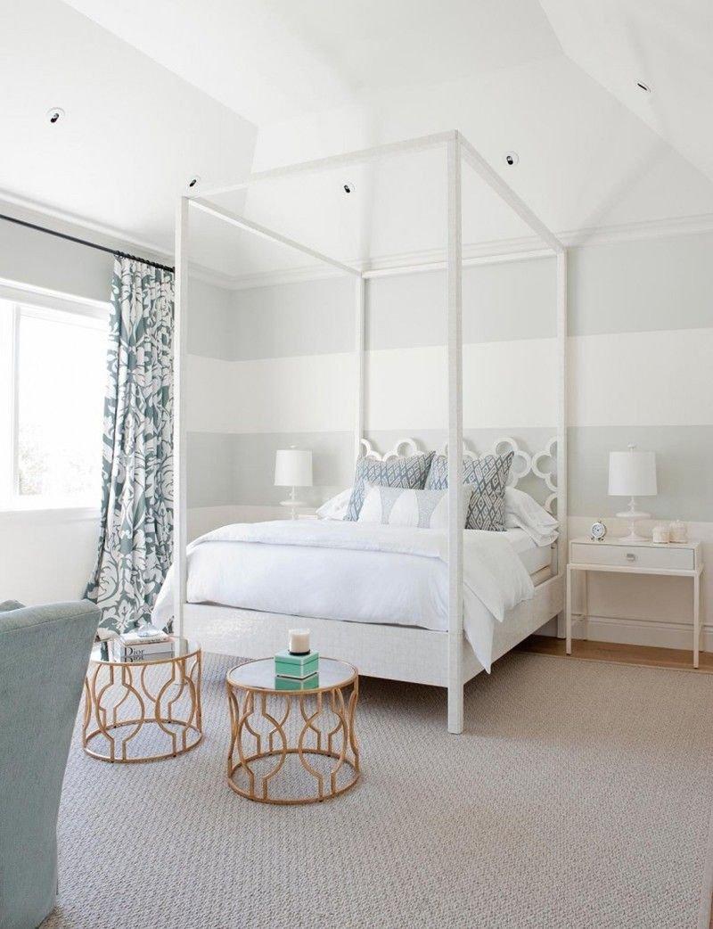 20180927083327 3dde Mê mẩn trước vẻ đẹp thanh lịch của mẫu giường ngủ Canopy