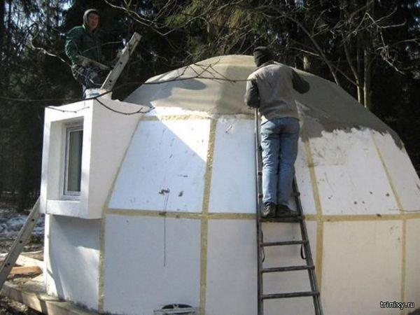 20170620152550 91bc Độc đáo những căn nhà mái vòm bằng xốp có thể chống lại động đất