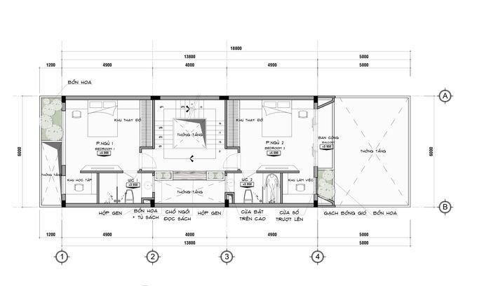 t ng 2 680x0 1 Tư vấn làm nhà 3 tầng hoàn thiện nội thất với 1,5 tỷ