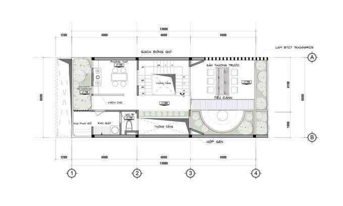 tang 3 680x0 Tư vấn làm nhà 3 tầng hoàn thiện nội thất với 1,5 tỷ