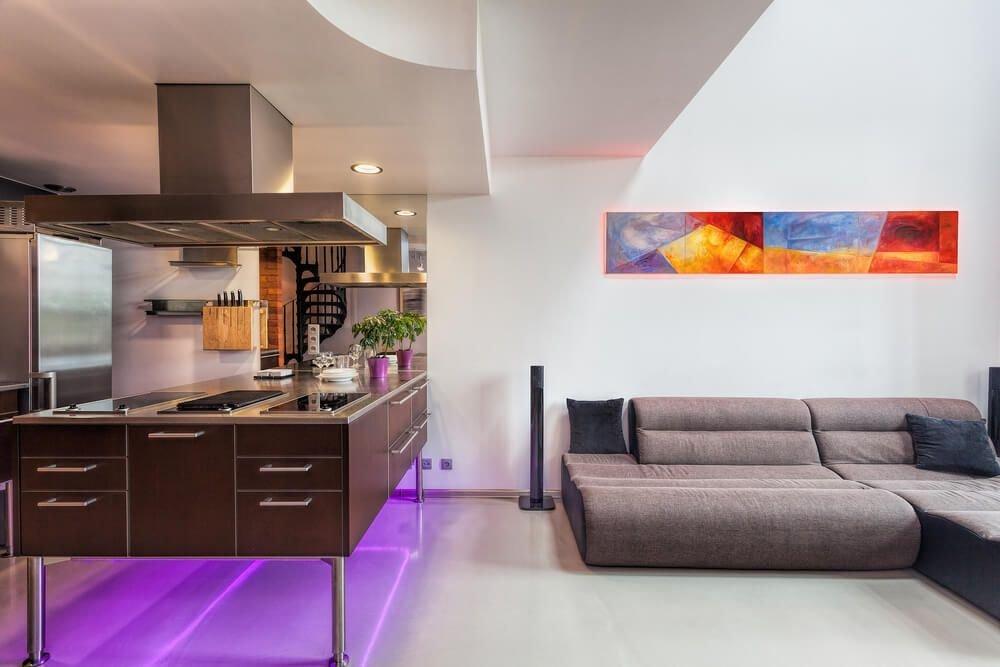 20190711134839 2d63 Những ý tưởng trang trí nội thất sáng tạo với đèn neon